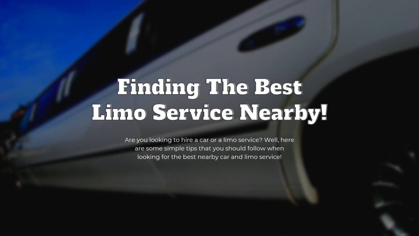 Simple Tips For Finding The Best Car & Limo Services Near You - Light House Party Bus Limo